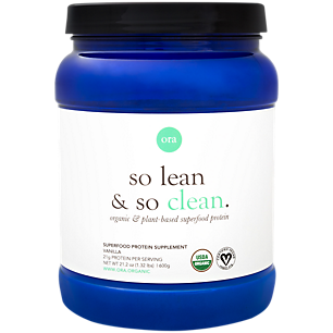 So Lean & So Clean Organic Plant-Based Superfood Protein - Vanilla (20 Servings)