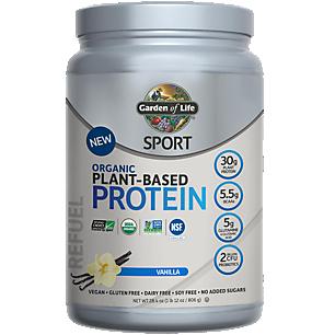Sport Organic Plant Based Protein - Vanilla (38 Servings)