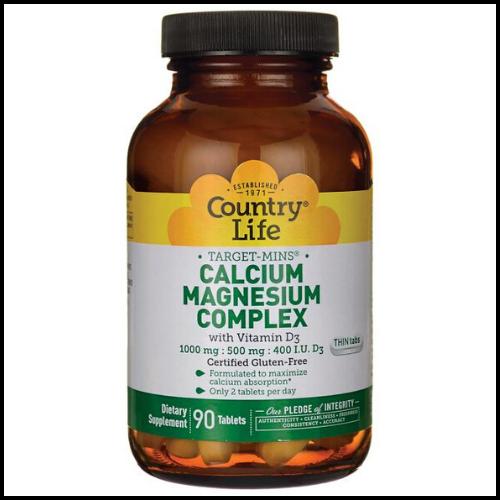 country life vegan calcium magnesium bottle