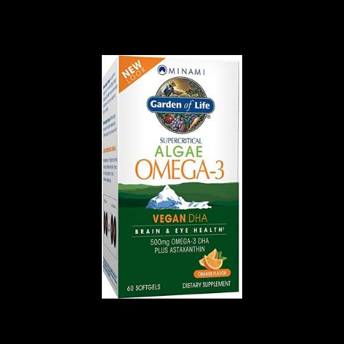 garden of life vegan omega 3 package