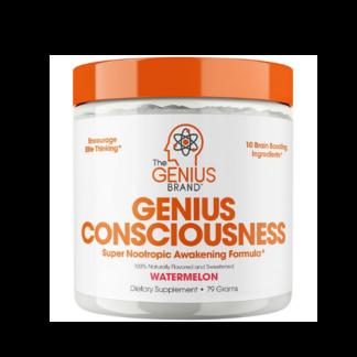 genius consciousness brain nutrients container