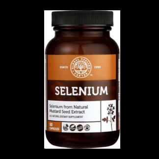 global healing center vegan selenium bottle