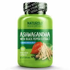 naturelo organic ashwagandha bottle