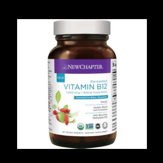 new chapter vegan vitamin b12 bottle