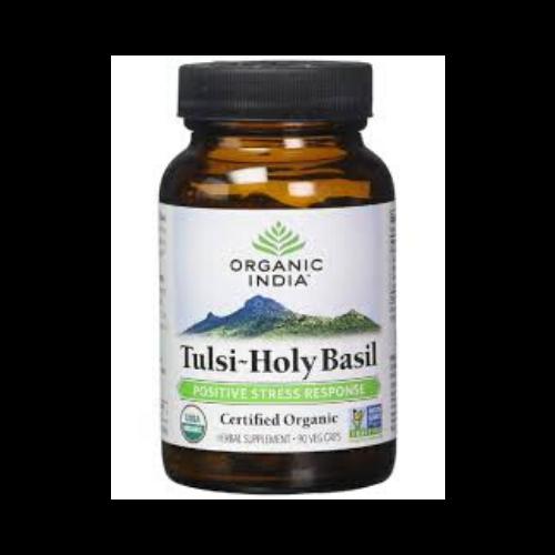 organic india tulsi holy basil bottle