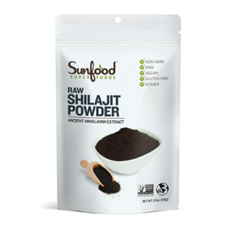 sunfood raw shilajit powder package