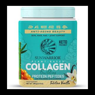 sunwarrior plant based collagen cannister