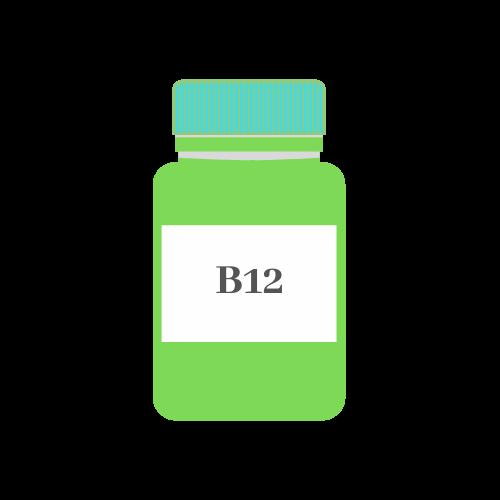 Vegan Vitamin B12 Liquids And Capsules