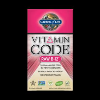 vitamin code raw b12 box