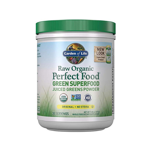 Garden Of Life Raw Organic Perfect Food Green Superfood Juiced Greens Powder