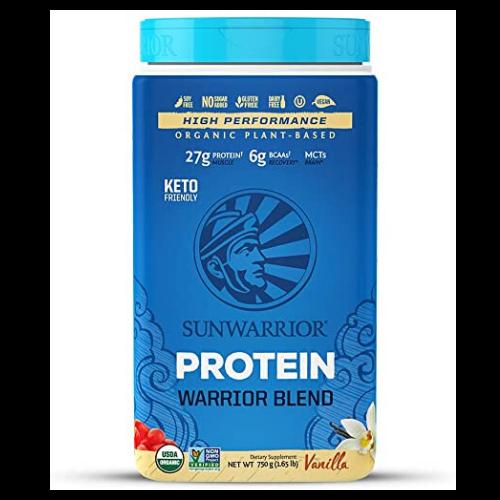 Sunwarrior Warrior Blend Vanilla Plant-Based Protein Powder